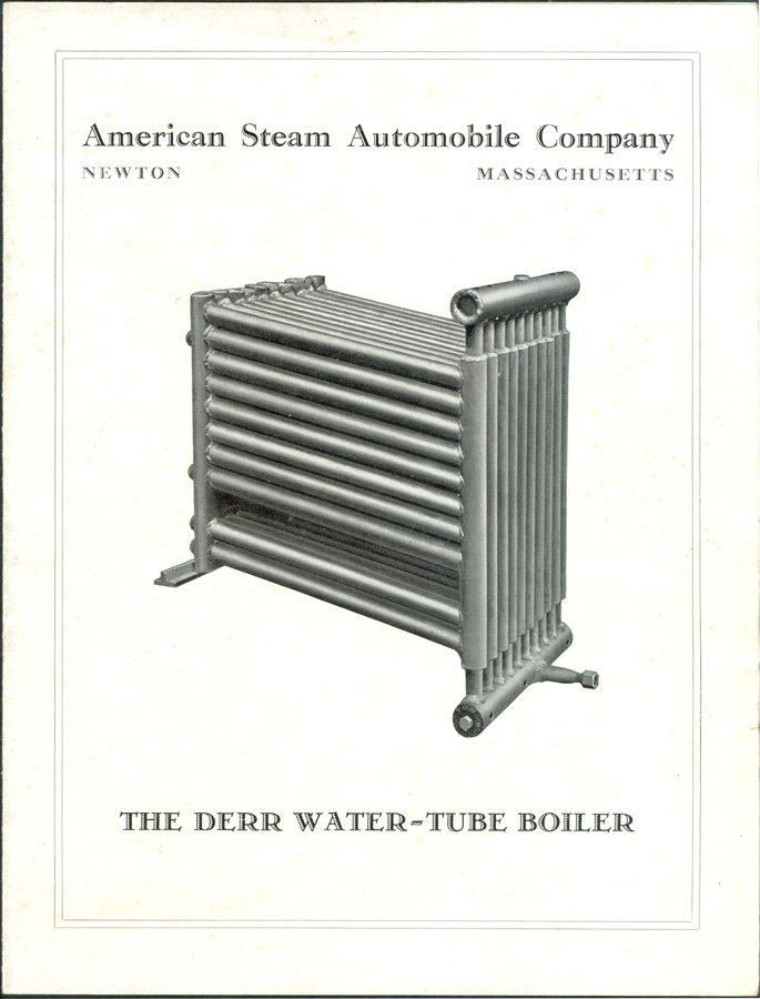 New boilers American_steam_automobile_company_1926_boiler_brochure_p_1