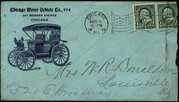 Chicago motor vehicle company ltd Motor vehicle chicago