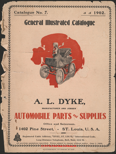 A. L. Dyke Catalogue No. 7, 1902