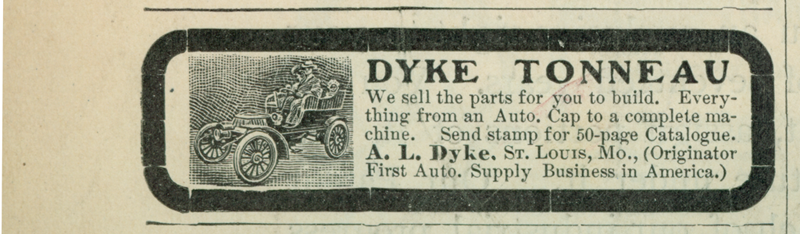 A. L. Dyke Advertisement, Scientific American February 7, 1902, p. 108
