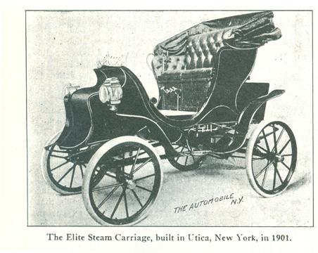 Elite Steam Carriage, D. B. Smith & Company, Floyd Clymer Image, p. 43.