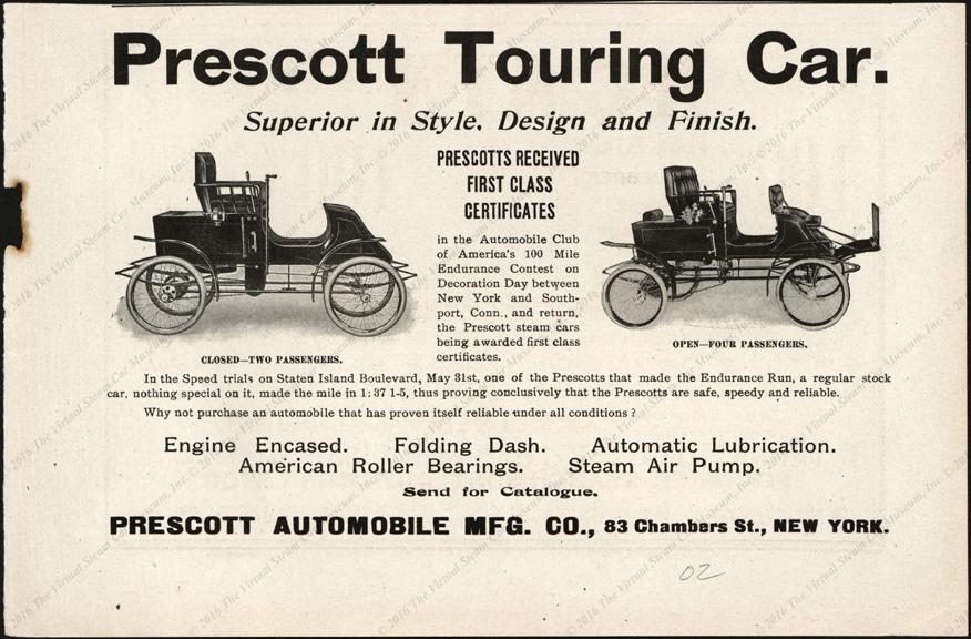 Prescott Automobile Manufacturing Company