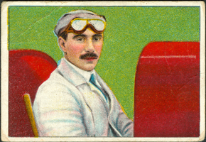 Fred Marriott Cigarette Card