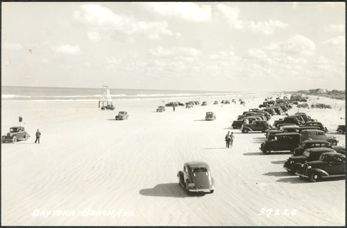 Ormond Beach Postcard 1940s