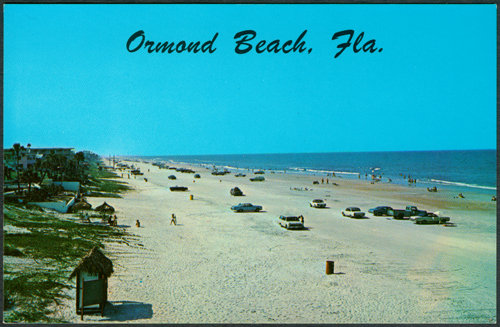 Ormond Beach Postcard 1950s