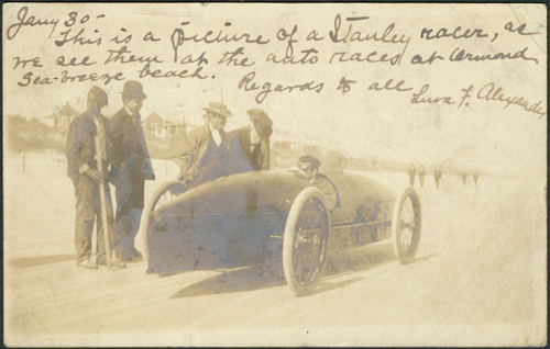 RPPC Fred Marriott Ormond Beach The Rocket