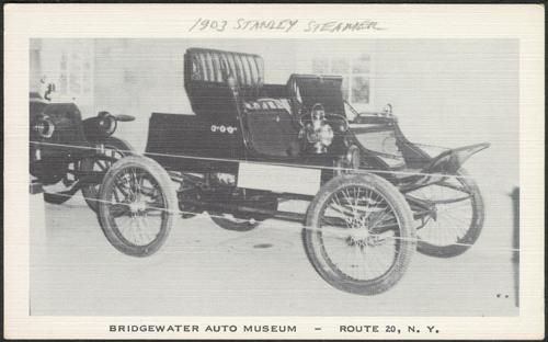 Stanley Steam Car Stanley Steamer Postcards