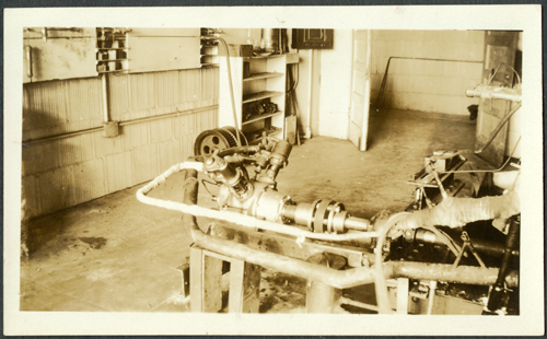 Besler Steam Airplane Engine