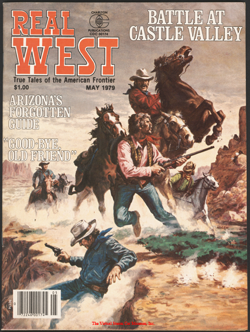 Toledo Steam Carriage, First Automobile to Reach the Grand Canyon, Real West Magazine, May 1979