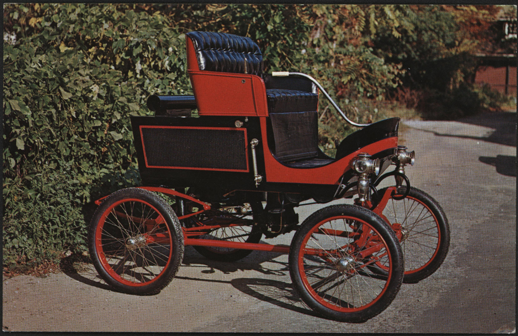 Toledo Steam Carriage, Crawford Museum, Henry Austin Clark, Postcard